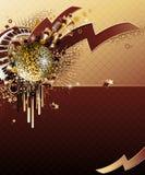 Diseño abstracto del partido. Imágenes de archivo libres de regalías