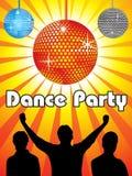 Diseño abstracto del partido de danza Foto de archivo libre de regalías