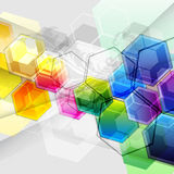 Diseño abstracto del vector Imagen de archivo