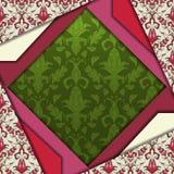 Diseño abstracto del vector 3D Foto de archivo libre de regalías