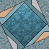 Diseño abstracto del vector 3D Foto de archivo