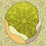 Diseño abstracto del vector 3D Imagen de archivo