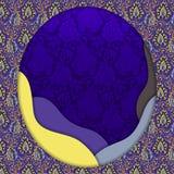 Diseño abstracto del vector 3D Imagenes de archivo
