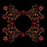 Diseño abstracto del vector de la flor ilustración del vector