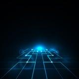 Diseño abstracto del vector de la red Fotos de archivo