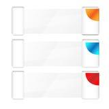 Diseño abstracto del vector del fondo de la plantilla del negocio Imágenes de archivo libres de regalías