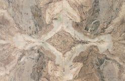 Diseño abstracto en el mármol Foto de archivo libre de regalías