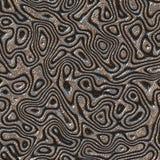 Diseño abstracto en moaré del metal Fotos de archivo