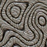 Diseño abstracto en moaré del metal Fotografía de archivo libre de regalías