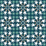 Diseño abstracto inconsútil del modelo del fondo del vector Imagen de archivo