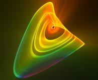 Diseño abstracto ligero multicolor Stock de ilustración