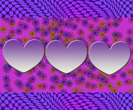 Diseño abstracto lindo Imagen de archivo libre de regalías