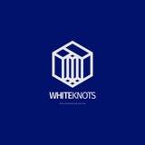 Diseño abstracto moderno del logotipo o del elemento Mejor para la identidad y los logotipos Foto de archivo