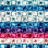 Diseño abstracto multicolor Libre Illustration