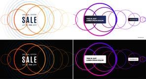 Diseño abstracto para la presentación, web, aterrizaje Gráficos creativos Composición del vector ilustración del vector