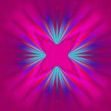 Diseño abstracto rosado del modelo Foto de archivo