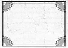 Diseño adornado agradable del marco Fotografía de archivo libre de regalías