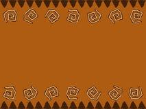 Diseño africano ilustración del vector