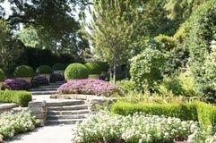 Diseño agradable de Dallas Arboretum foto de archivo libre de regalías