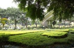 Diseño agradable de los paisajes bajo opinión del viaducto Fotografía de archivo libre de regalías
