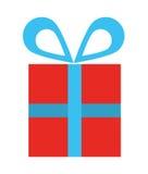 diseño aislado del icono de la caja de regalo Imágenes de archivo libres de regalías
