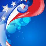 Diseño americano del Día de la Independencia libre illustration