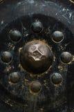 Diseño antiguo de la música del círculo del gongo Fotos de archivo libres de regalías