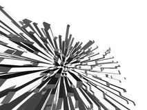 Diseño arquitectónico ilustración del vector