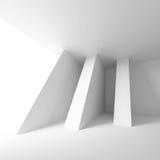 Diseño arquitectónico abstracto stock de ilustración