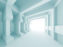 Diseño arquitectónico abstracto ilustración del vector