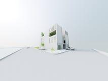 Diseño arquitectónico conceptual stock de ilustración