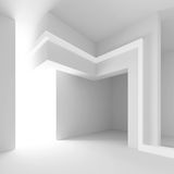 Diseño arquitectónico futurista ilustración del vector