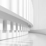 Diseño arquitectónico futurista stock de ilustración