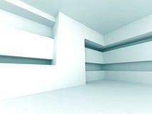 Diseño arquitectónico interior vacío futurista abstracto Backgrou ilustración del vector