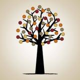 Diseño artístico del árbol Imagen de archivo libre de regalías