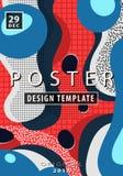Diseño artístico del cartel Foto de archivo