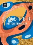 Diseño artístico del cartel Fotos de archivo libres de regalías