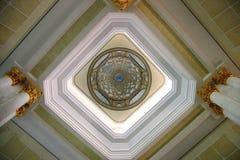 Diseño artístico del techo Foto de archivo libre de regalías