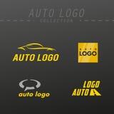 Diseño auto del logotipo del vector fotografía de archivo