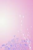 Diseño banal de flores Fotografía de archivo libre de regalías