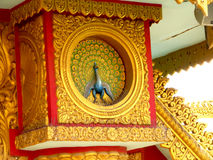 Diseño birmano del estilo Imagen de archivo