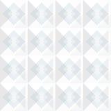 Diseño blanco del fondo de los cuadrados del extracto Fotografía de archivo libre de regalías