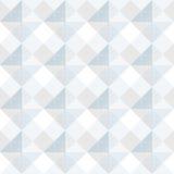 Diseño blanco del modelo de los cuadrados del extracto Ilustración del Vector