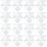 Diseño blanco inconsútil del fondo de los cuadrados Fotografía de archivo libre de regalías