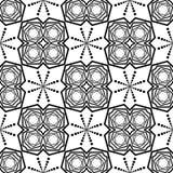 DISEÑO BLANCO NEGRO del MODELO del vector Foto de archivo libre de regalías