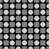 DISEÑO BLANCO NEGRO del MODELO del vector Fotografía de archivo libre de regalías