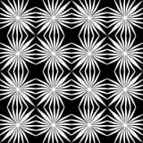 DISEÑO BLANCO NEGRO del MODELO del vector Fotos de archivo libres de regalías