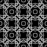 DISEÑO BLANCO NEGRO del MODELO del vector Imagen de archivo
