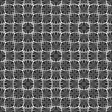 DISEÑO BLANCO NEGRO del MODELO del vector Fotos de archivo