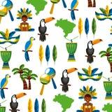 Diseño brasileño de la cultura Fotografía de archivo libre de regalías